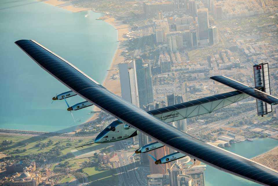 Spektakularny przelot samolotu o napędzie słonecznym nad Pacyfikiem