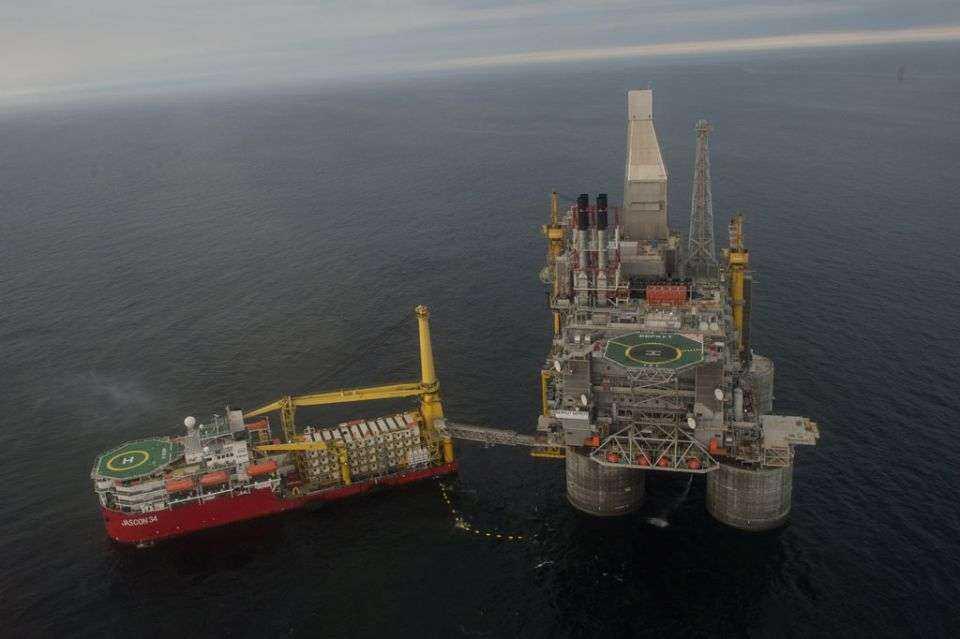 Nowa platforma wiertnicza na Morzu Ochockim