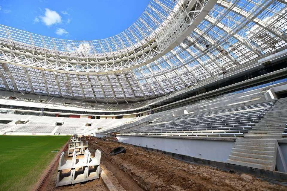 """Modernizacja moskiewskiego stadionu """"Łużniki"""""""