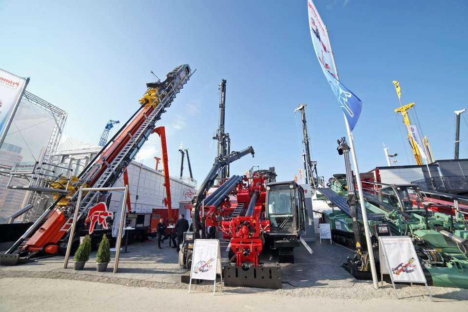 Bauma 2016, stoisko firmy Prime Drilling / fot. Quality Studio dla www.inzynieria.com