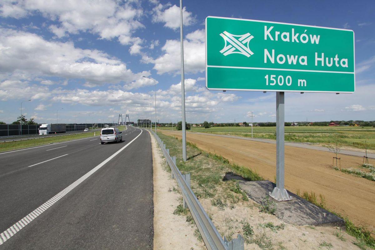 Nowy most na Wiśle w ciągu S7