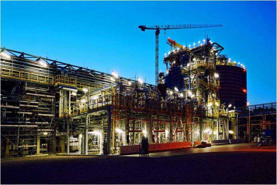 Najnowsze zdjęcia z budowy terminalu LNG w Świnoujściu