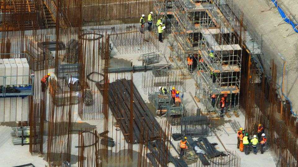 Elektrownia Opole: fundament maszynowni gotowy