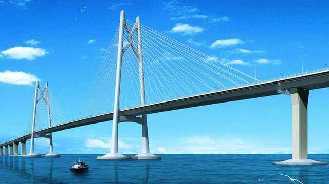 Przeprawa Hongkong-Makau-Zhuhai Bridge