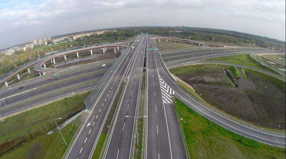 Kierowcy korzystają już z nowego odcinka DTŚ w Gliwicach