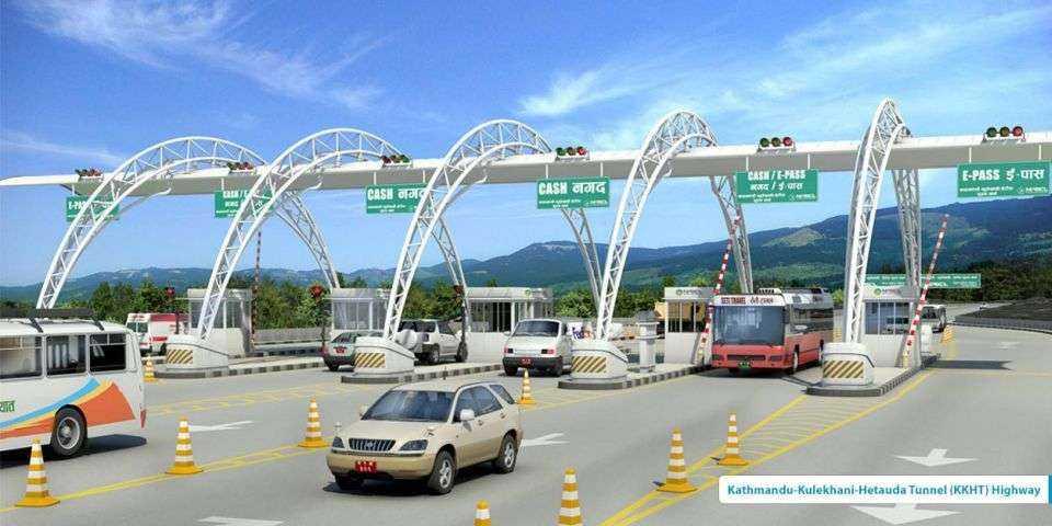 Autostrada Kathmandu - Kulekhani - Hetauda w Nepalu wraz z trzema tunelami