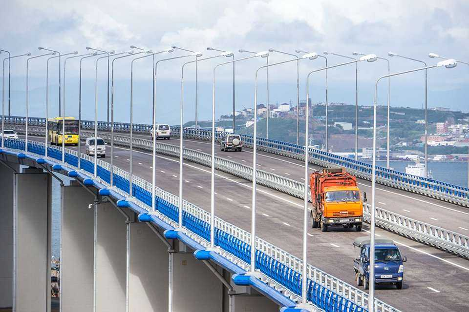 Most wantowy przez Bosfor Wschodni we Władywostoku. Fot. z archiwum SK Most