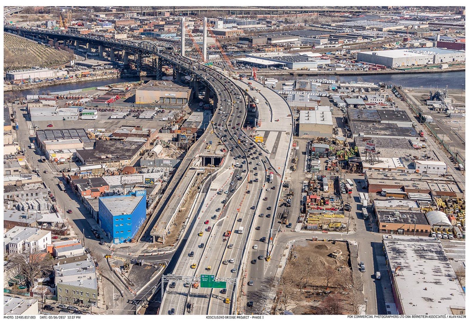 Nowojorski most im. Kościuszki - fotorelacja z placu budowy