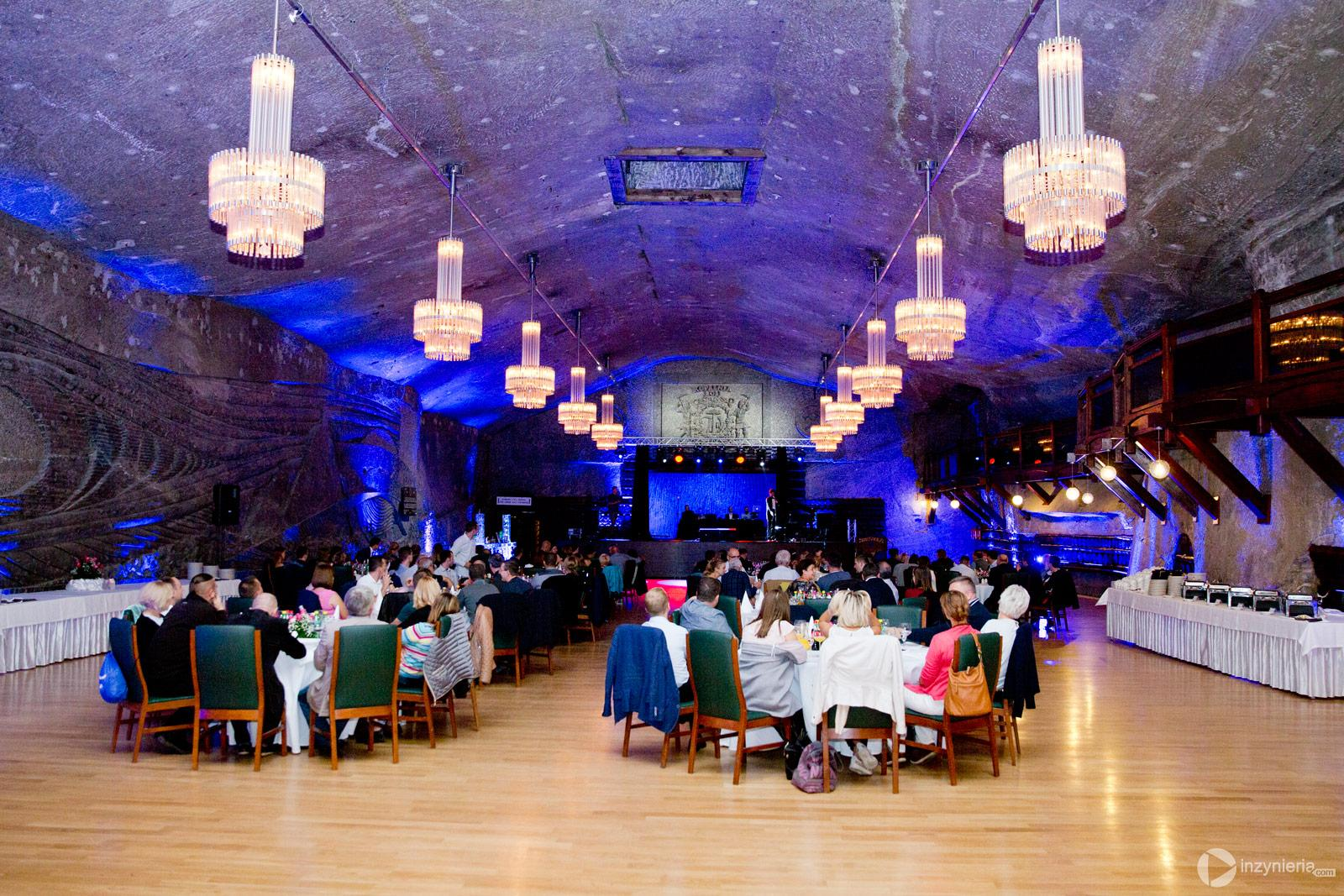 Impreza wieczorna w kopalni soli w Wieliczce / fot. <a href=&quot;http://www.quality-studio.com&quot; target=&quot;_blank&quot;>Quality Studio</a> dla www.inzynieria.com