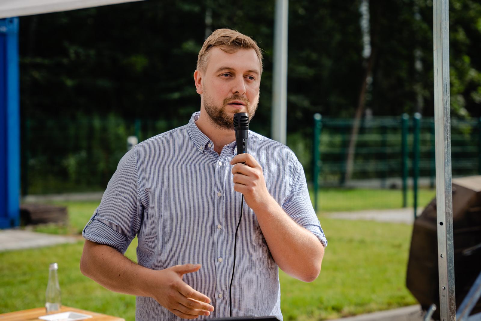 Stanisław Szczekarewicz, prezes firmy GSG Industria sp. z o.o. I Grand Prix Polski samochodów ciśnieniowo-ssących. Fot. Quality Studio dla GSG Industria