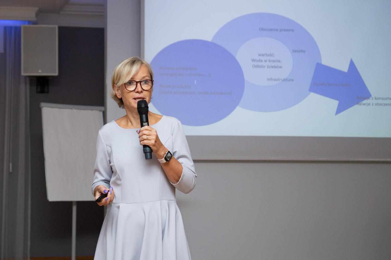 Klara Ramm, ekspert EurEau i doradca IGWP. Fot. inzynieria.com