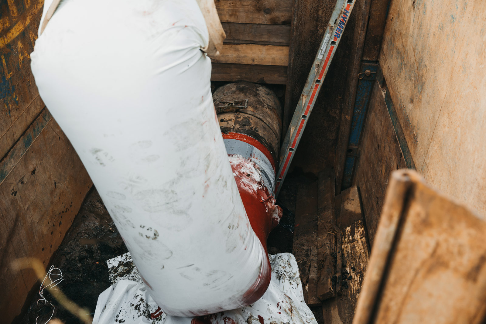 Walka z korozją w krakowskim wodociągu. Fot. Quality Studio