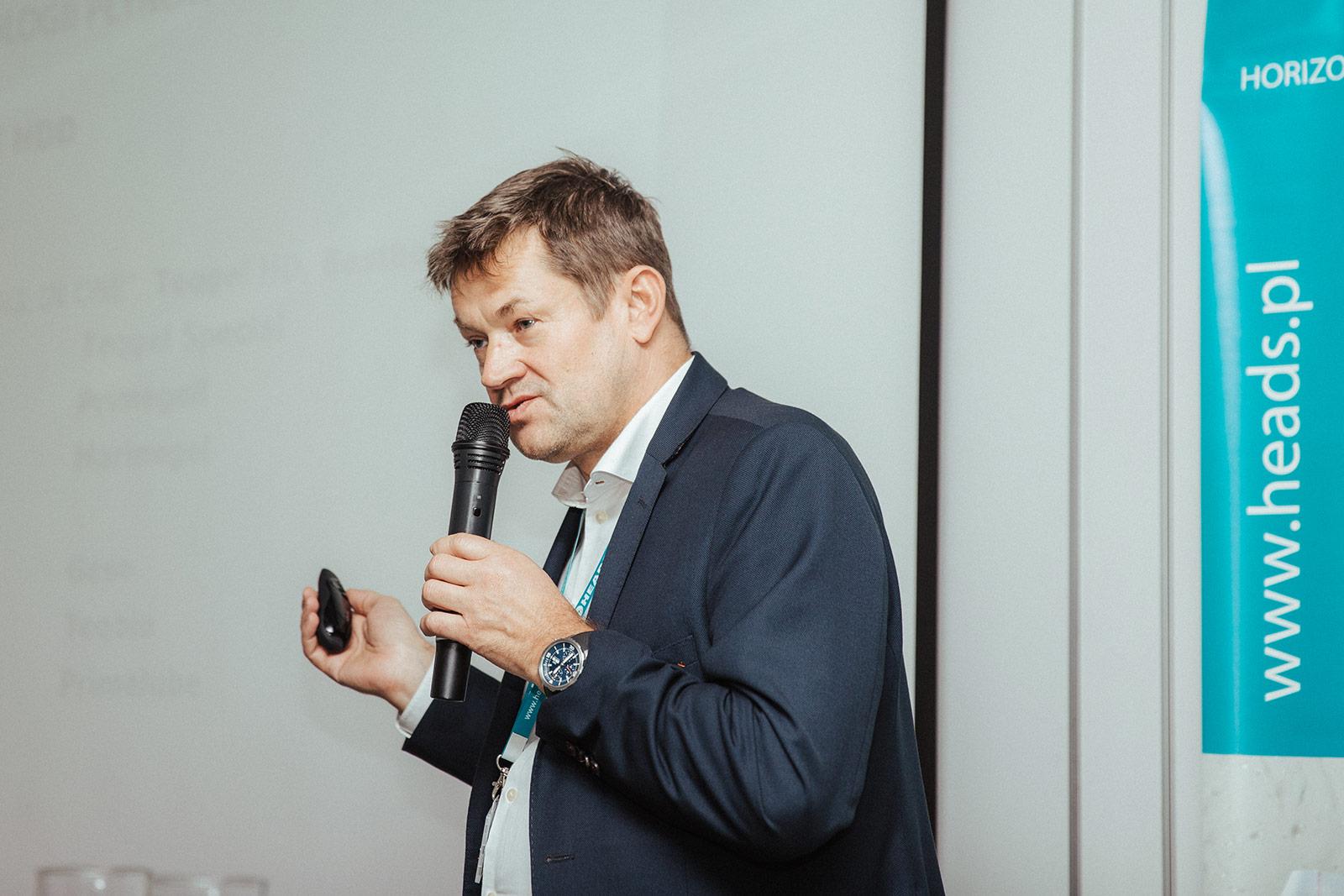 Krzysztof Czudec (HEADS sp. z o.o.). Fot. Quality Studio