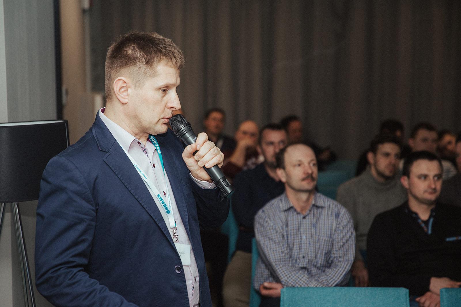 Krzysztof Kublik (HEADS sp. z o.o.). Fot. Quality Studio