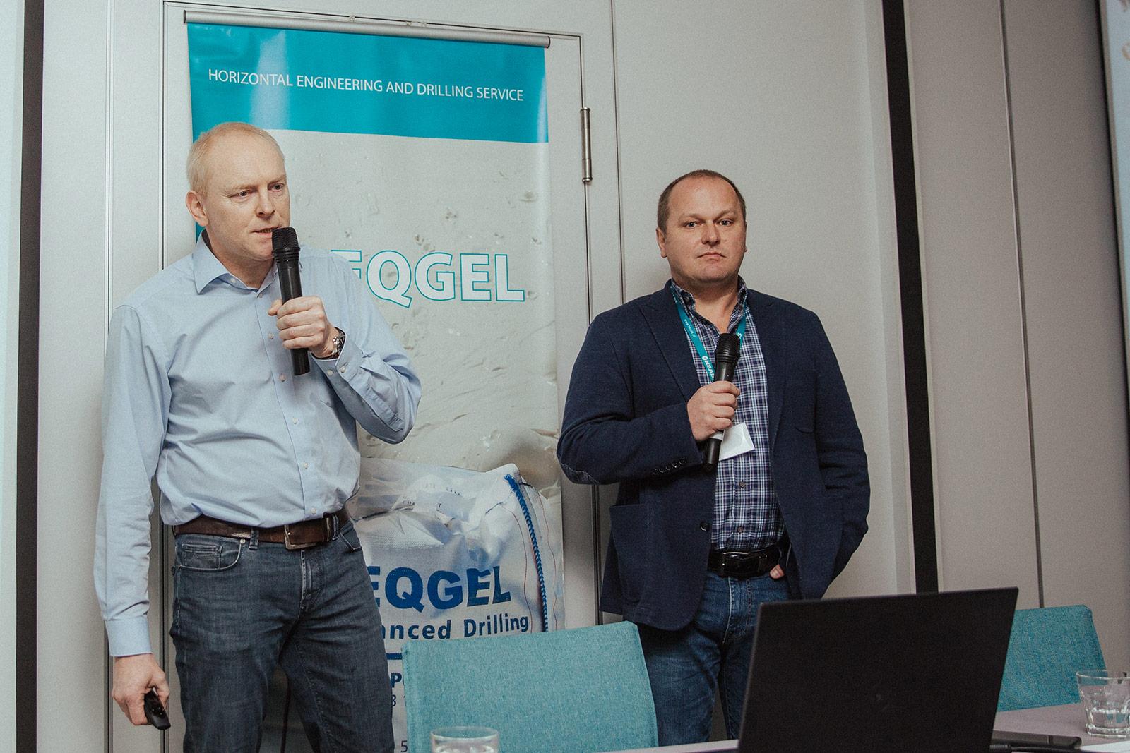 Ralf Kiesow (Prime Drilling) i Rafał Leśniak (HEADS sp. z o.o.) . Fot. Quality Studio