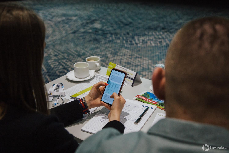 """Test interaktywny w oparciu o Akademię Inżynierii. Warsztaty """"ABC technologii CIPP"""" w ramach IV Konferencji """"Renowacja Wykładzinami (Rękawami) Utwardzanymi na Miejscu"""". Fot. Quality Studio dla www.inzynieria.com"""