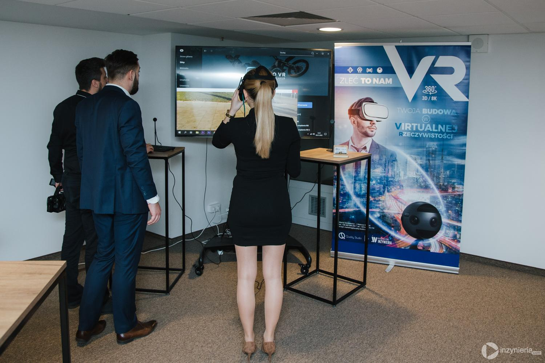"""Stoisko VR firmy Quality Studio. IV Konferencja """"Renowacja Wykładzinami (Rękawami) Utwardzanymi na Miejscu"""". Fot. Quality Studio dla www.inzynieria.com"""