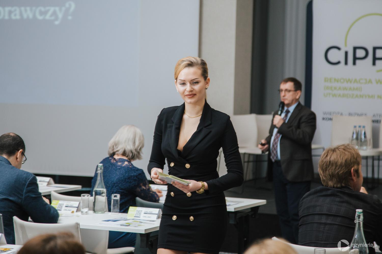 """Konkursy w trakcie IV Konferencji """"Renowacja Wykładzinami (Rękawami) Utwardzanymi na Miejscu"""". Fot. Quality Studio dla www.inzynieria.com"""