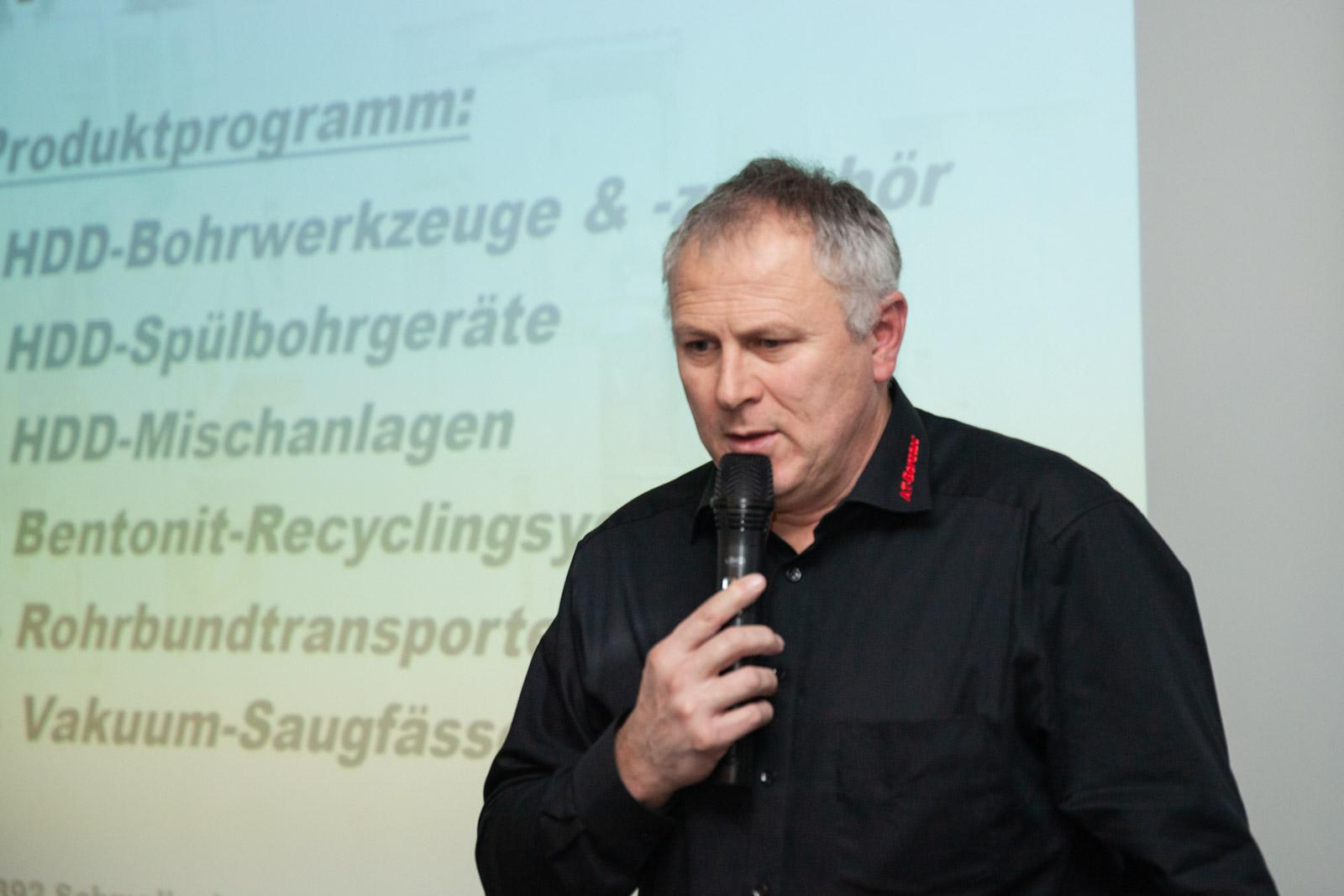 Andreas Tigges, AT – Boretec. XXIII Seminarium szkoleniowe dla branży HDD. fot. <a href=&quot;http://www.quality-studio.com&quot; target=&quot;_blank&quot;>Quality Studio</a> dla www.inzynieria.com