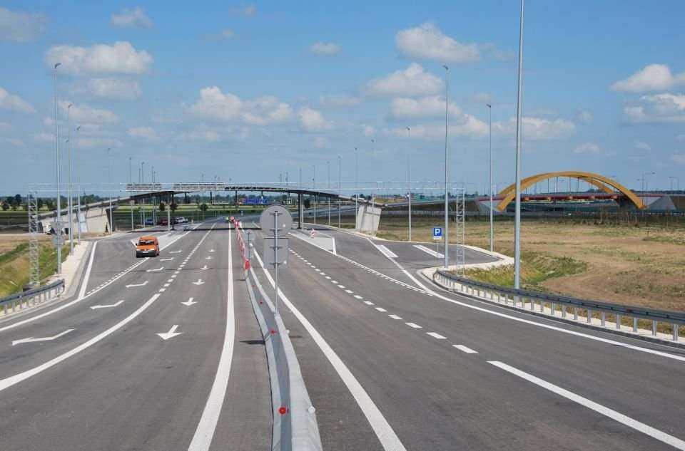 Kutno Wschód - nowy węzeł na autostradzie A1