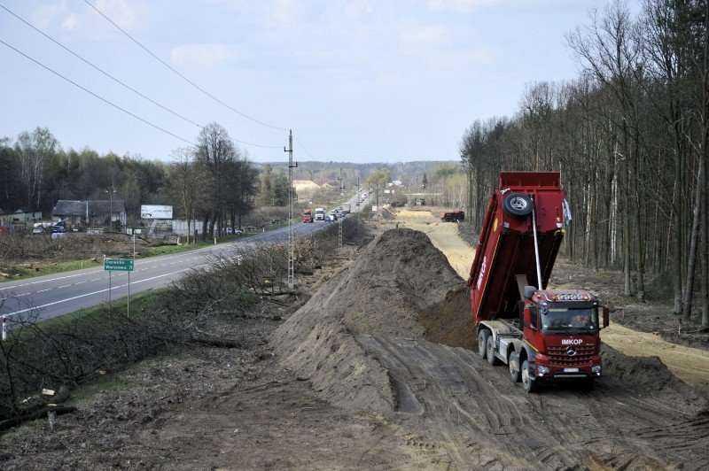 Odcinki dróg ekspresowych w budowie [galeria]