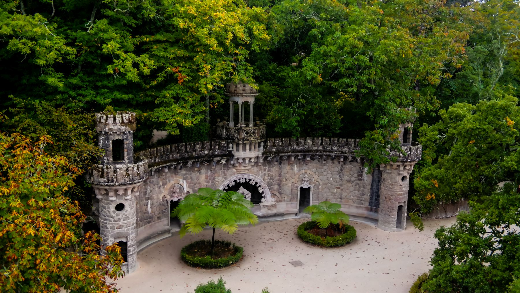Quinta de Regaleira. Fot. Adobe Stock