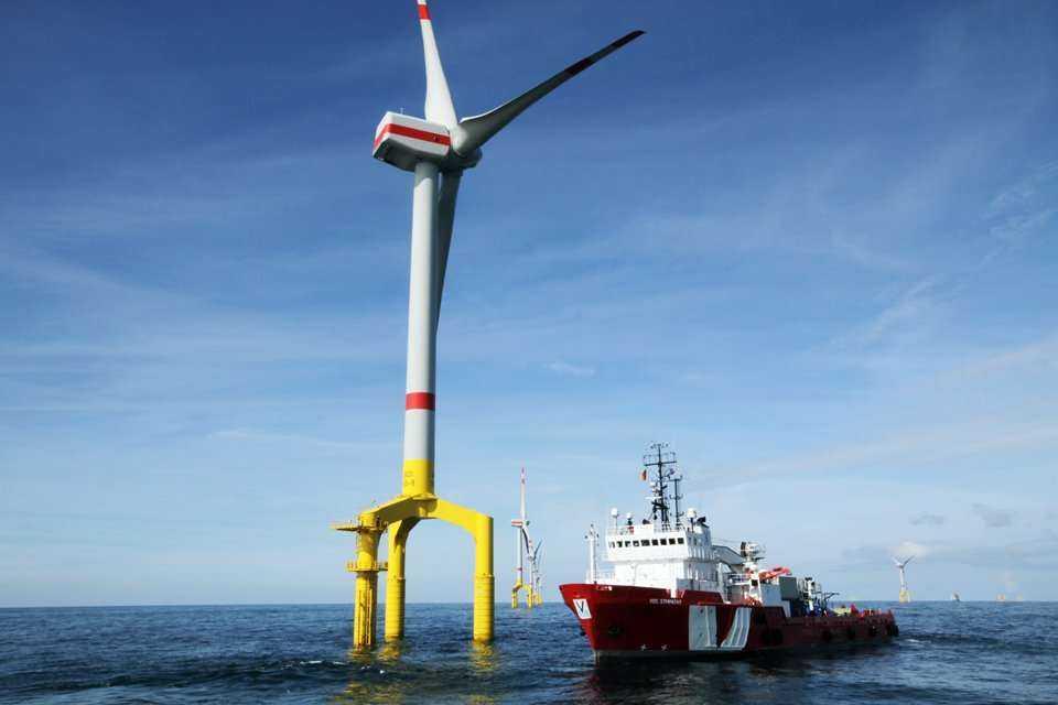 Farma Bard Offshore 1 na Morzu Północnym