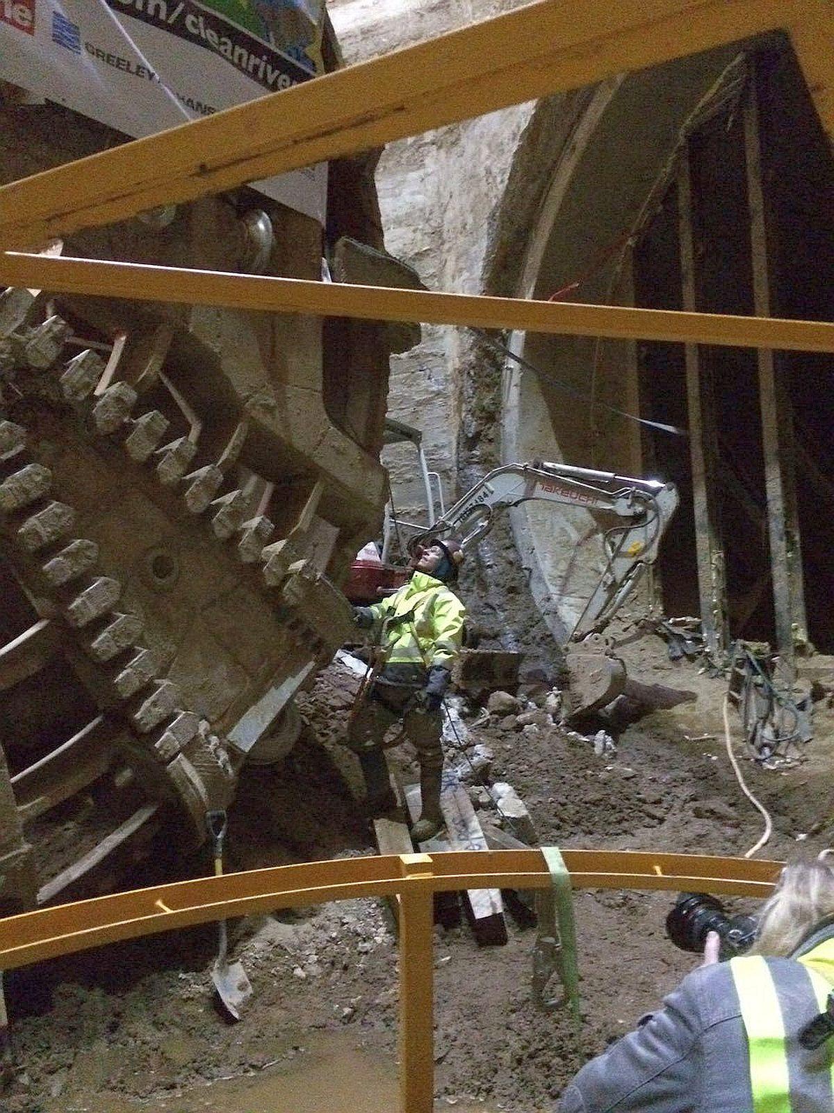 Budowa Anacostia Tunnel: TBM Nannie. Fot. DC Water