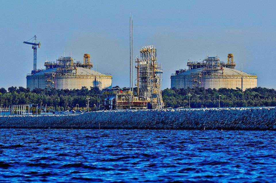 Budowa terminalu LNG - najnowsze zdjęcia