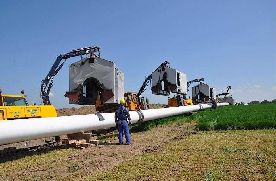 Budowa gazociągu relacji Rembelszczyzna - Gustorzyn