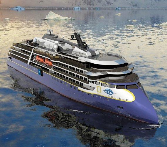 W Gdyni powstaje polarny statek pasażerski