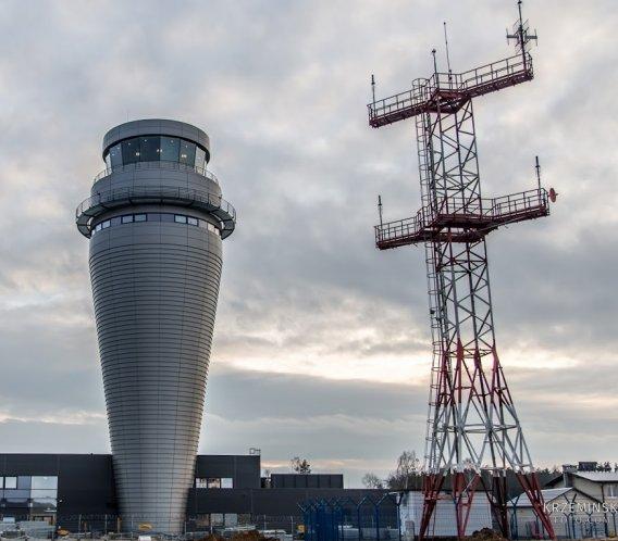 Jak wygląda nowa wieża kontroli lotów w Pyrzowicach?