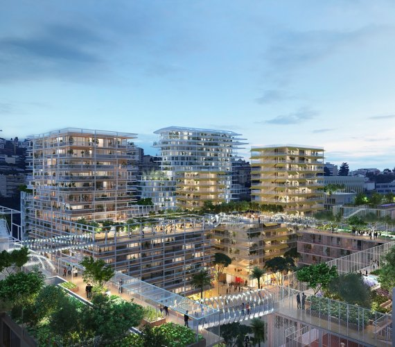 W Nicei powstaje futurystyczna, ekologiczna dzielnica