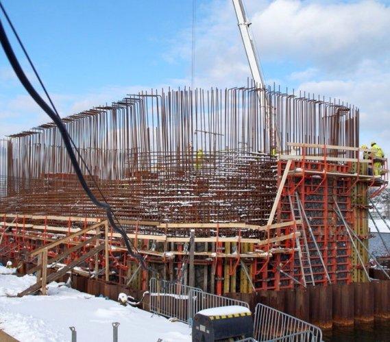 Budowa mostu zwodzonego na Wyspę Sobieszewską w Gdańsku