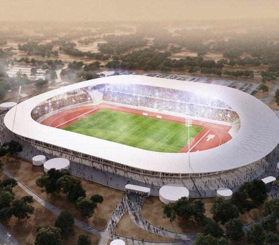 Wybrzeże Kości Słoniowej zbuduje mały, ale monumentalny stadion