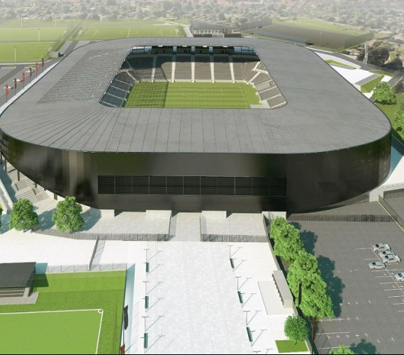 Taki będzie stadion w Szczecinie. W lipcu przetarg
