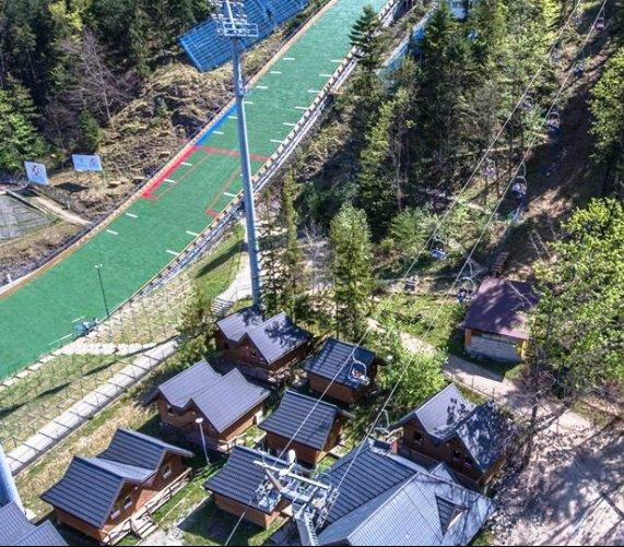 Wielka Krokiew – zdjęcia z drona