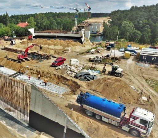 Co nowego na budowie drogi ekspresowej S5 w okolicy Bydgoszczy?