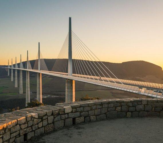 Millau – najwyższy wiadukt w Europie