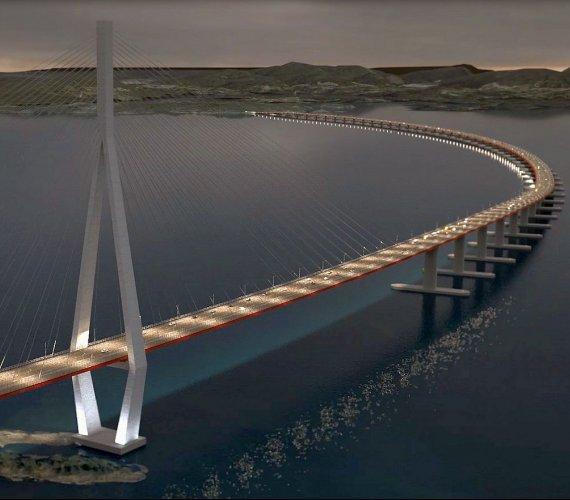 Tak wyglądać będzie najdłuższy most pływający na świecie