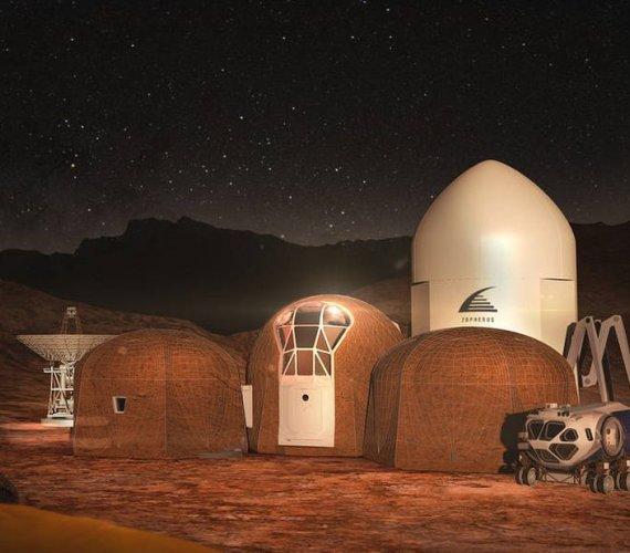 NASA skolonizuje Marsa? Są projekty domów