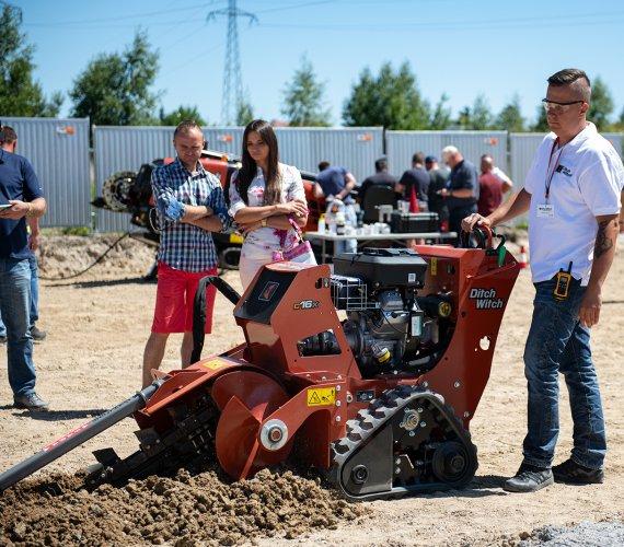 Roadshow 2018 – pokaz maszyn i urządzeń Ditch Witch®
