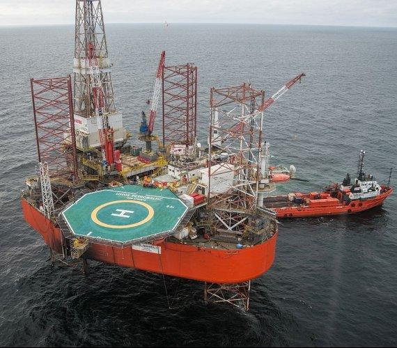 Budowa gazociągu na dnie Bałtyku