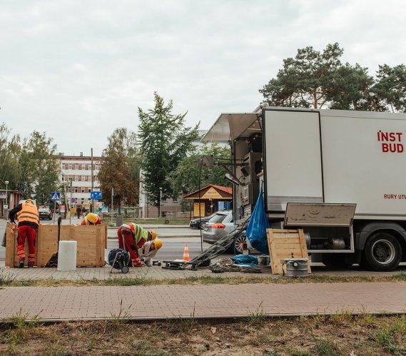 Bezwykopowa renowacja 20 km kanalizacji sanitarnej i deszczowej we Włocławku