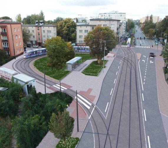 Tak będzie wyglądało torowisko do krakowskich Bronowic