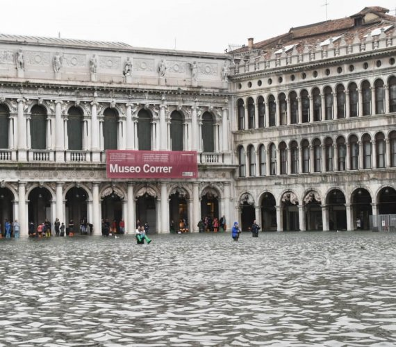 Powódź w Wenecji – zalało ponad 75% miasta