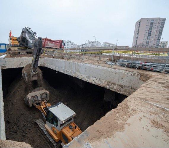 Tak wygląda plac budowy najdłuższego tunelu drogowego w Polsce