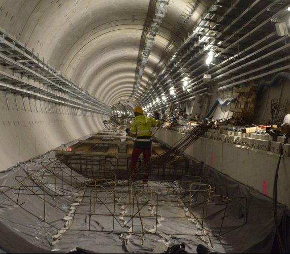 II linia metra: pierwszy odcinek torowy na Woli