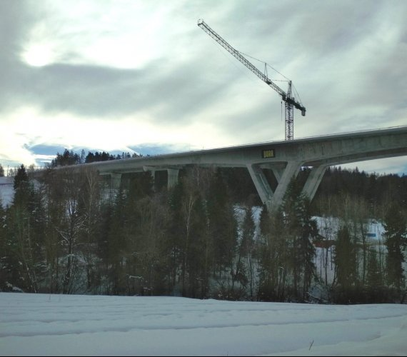 Zakopianka: gotowa konstrukcja najdłuższego wiaduktu