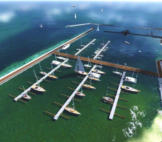 Rozbudowa portu w Pucku [wizualizacje]